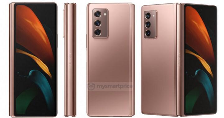 Galaxy Z Fold 2 5G resmi basın görselleriyle karşımızda