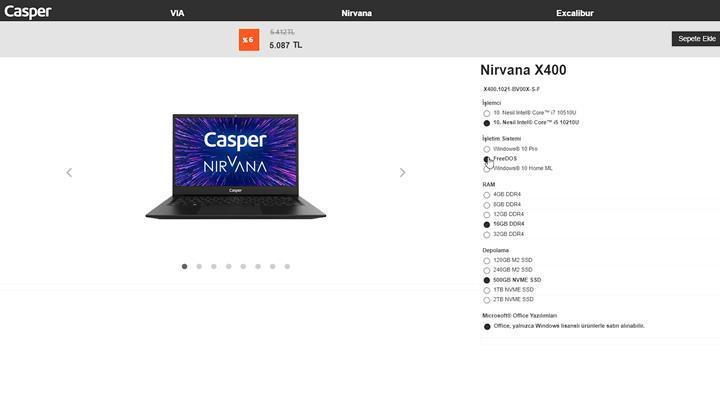Taşınabilirlik odaklı, kıyasla iyi fiyatlı 'Casper X400 incelemesi'