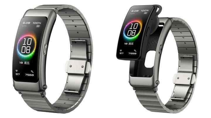 Huawei TalkBand B6 duyuruldu: Hem bileklik hem Bluetooth kulaklık