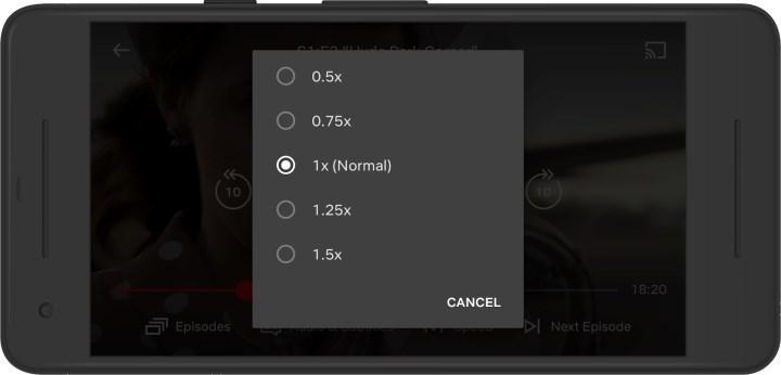 Netflix, Android uygulamasına video hızı kontrolleri ekliyor