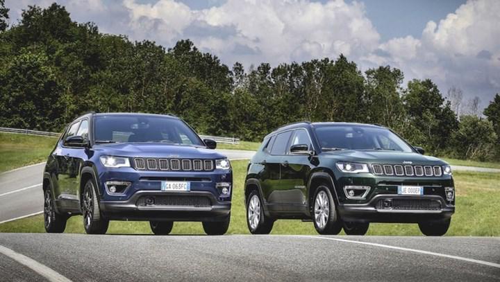 2020 Jeep Compass, yeni benzinli ve dizel motorlarıyla Türkiye'de