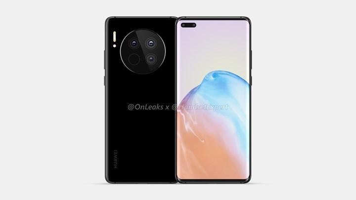 Huawei Mate 40'ın tasarımı tamamen ortaya çıktı