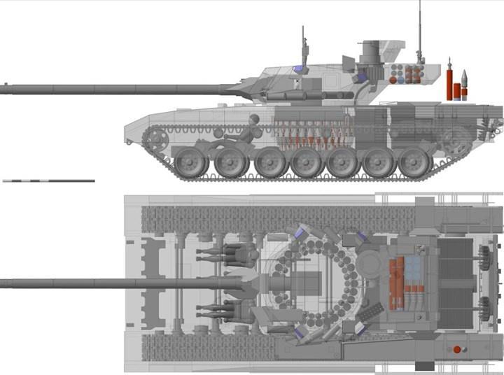 Rus Bakan, T-14 Armata tanklarının üretimine başlandığını duyurdu