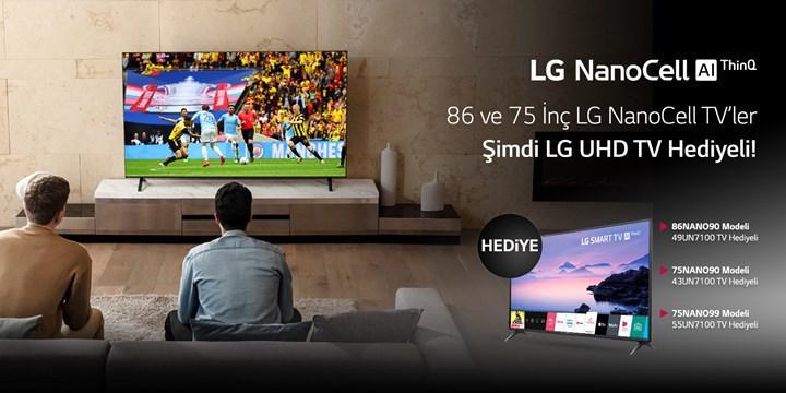 LG NanoCell TV'ler LG UHD TV hediyeli