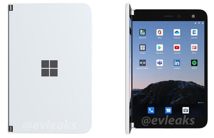 Microsoft Surface Duo'nun yeni görüntüleri yayınlandı