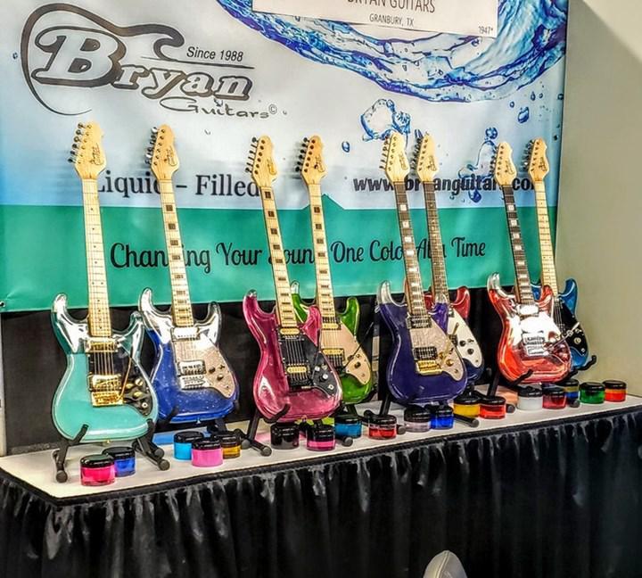 Sıvı dolu gitar projesi gerçeğe dönüşüyor