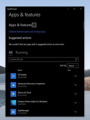 Windows 10'a RAM'i tüketen uygulamaları tespit etmeye yardımcı olan 'uygulama yöneticisi' eklenebilir
