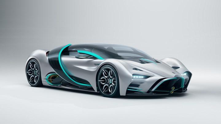 1635 km menzile sahip hidrojen yakıtlı süper otomobil: Hyperion XP-1