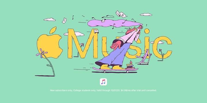 Apple Music, üniversite öğrencilerine özel 6 ay ücretsiz oldu