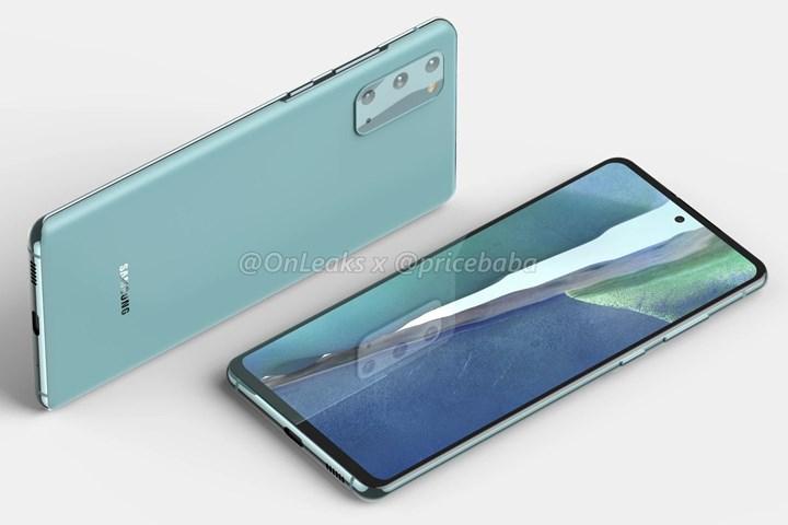Samsung Galaxy S20 Fan Edition 5G'nin render görüntüleri ortaya çıktı!