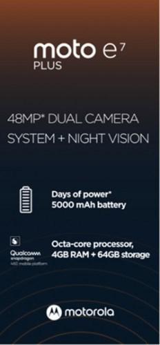 Moto E7 Plus'ın bazı özellikleri kesinleşti!