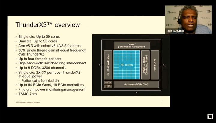 ARM tabanlı Thunder X3 sunucu işlemcisi tanıtıldı