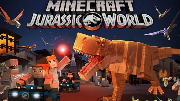 Minecraft Jurassic World DLC indirmeye sunuldu