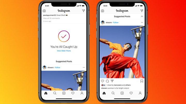 Instagram ana sayfa akışı değişti: İşte keşfete dönen yeni akış