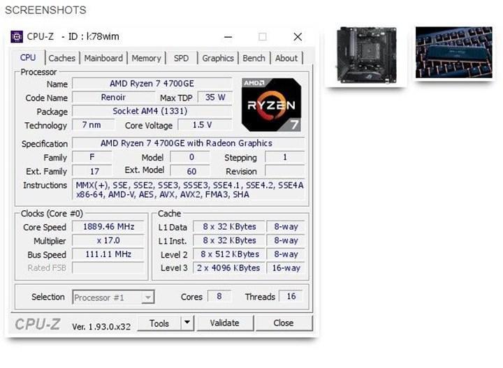 AMD Renoir APU'suyla dünya rekoru kırıldı: 6666 MHz'lik bellek frekansına çıkıldı