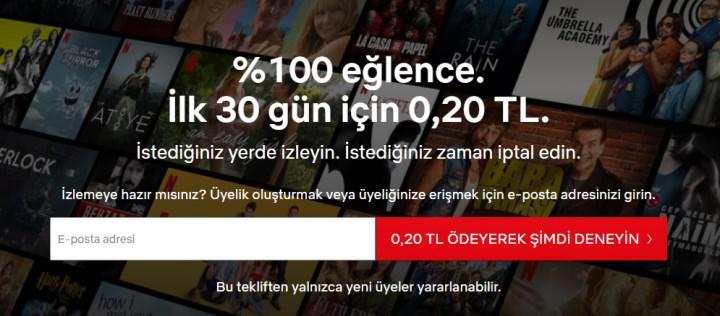 Netflix'in özlenen kampanyası geri döndü: 30 gün bedava!