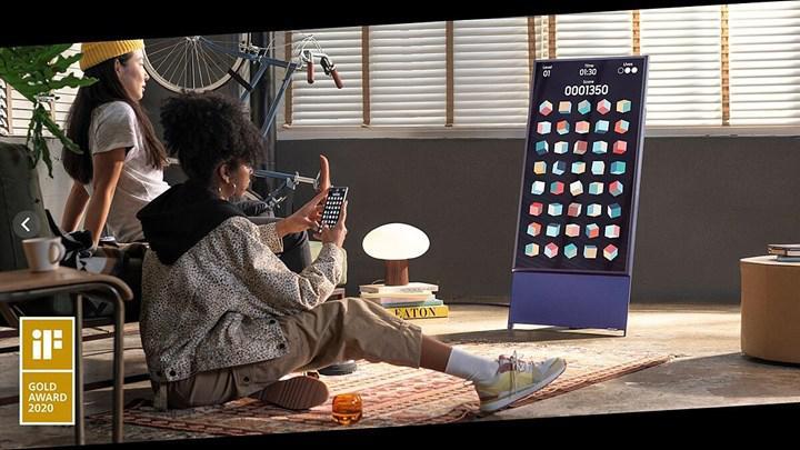 Dönebilir ekranlı Samsung The Sero TV ülkemizde satışa başladı