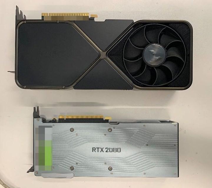 RTX 3090'ın en net görseli paylaşıldı: 3 slot kaplayacak