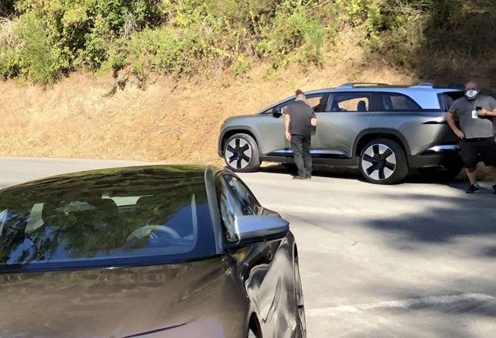 Lucid Motors'un elektrikli SUV'si ortaya çıktı