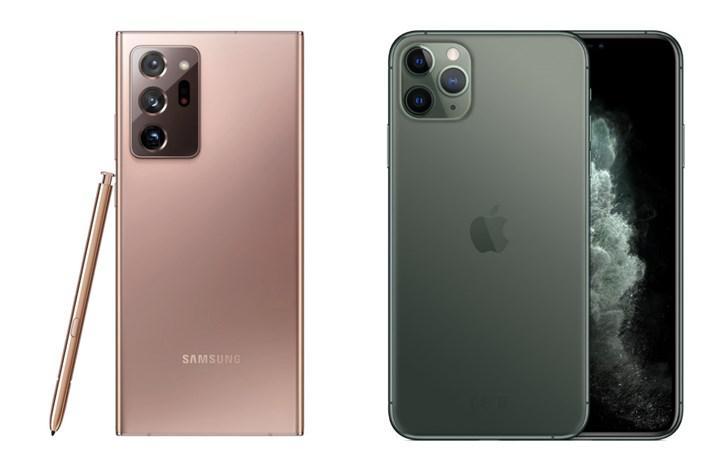 iPhone 11 Pro Max ve Galaxy Note 20 Ultra düşürme testinde karşı karşıya
