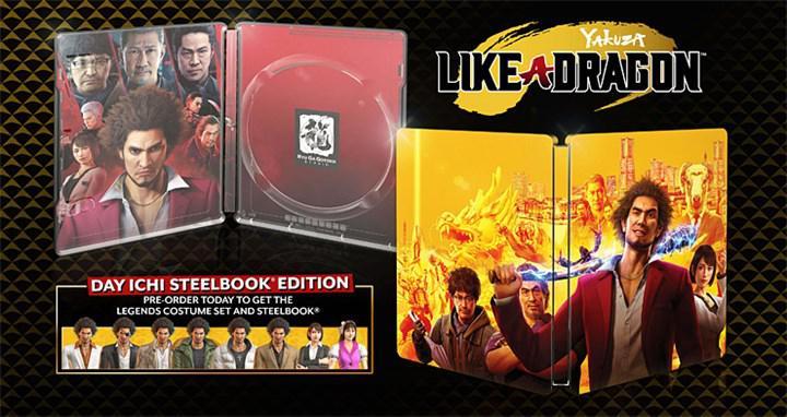 Yakuza: Like a Dragon çıkış tarihi ve ön sipariş detayları belli oldu