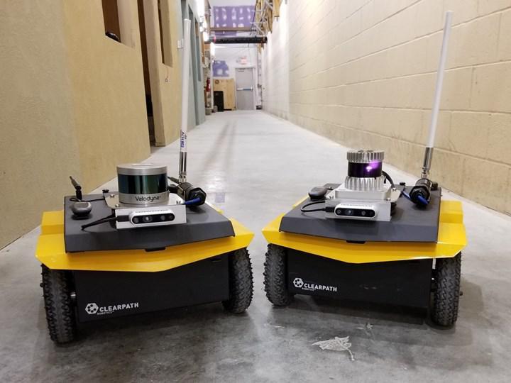 LiDAR sensörleriyle donatılmış robotlar, askerlere çevreyle ilgili gerçek zamanlı bilgi verebilecek