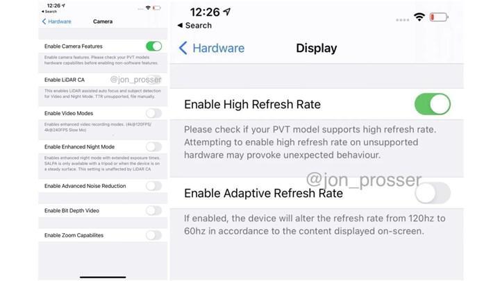 iPhone 12 Pro Max çalışırken görüntülendi! İşte sızan kamera ve ekran özellikleri