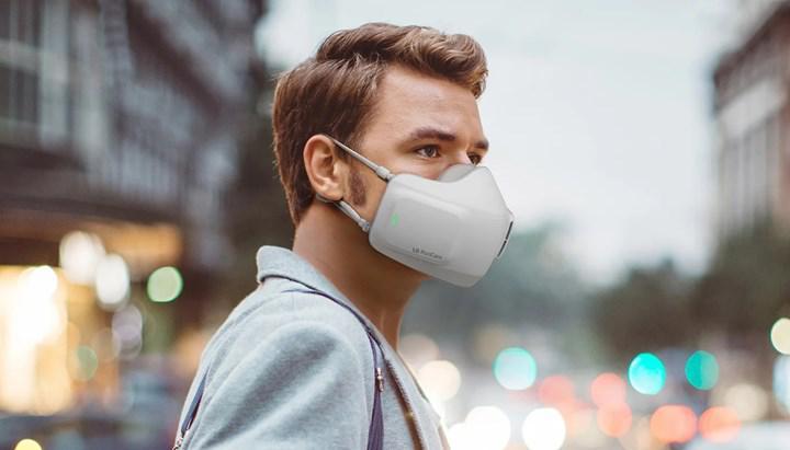 LG de akıllı bir maske geliştiriyor