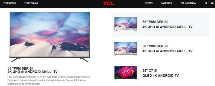 TCL marka televizyonlar Eylül'de Türkiye'de satışa çıkıyor