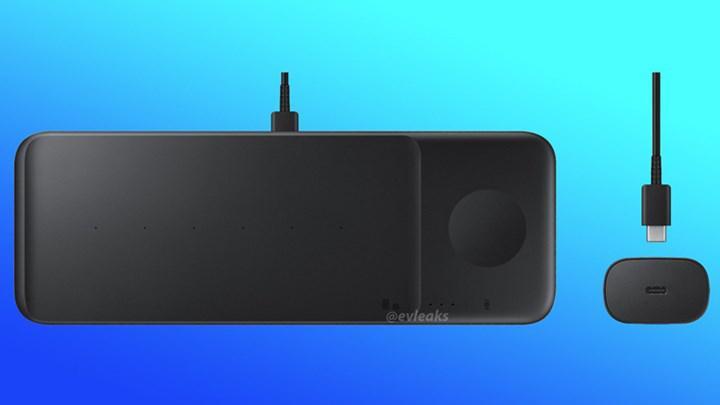 Samsung'dan yeni kablosuz şarj istasyonu: Wireless Charger Pad Trio