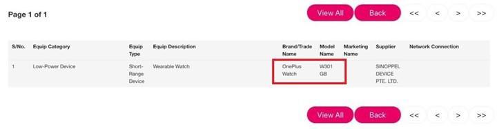 OnePlus Watch için geri sayım başladı
