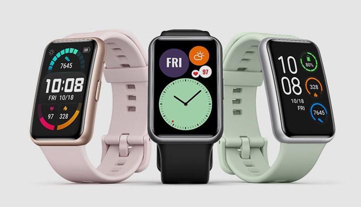 Huawei Watch Fit tanıtıldı: Bileklik formunda akıllı saat