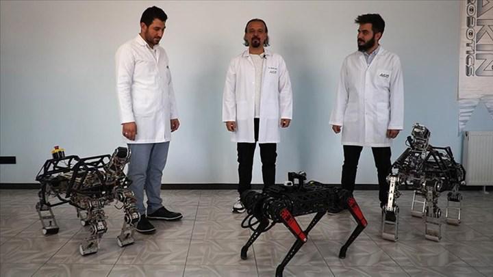 AkınRobotics, dört ayaklı robot ARAT'ın yeni versiyonu hakkında konuştu