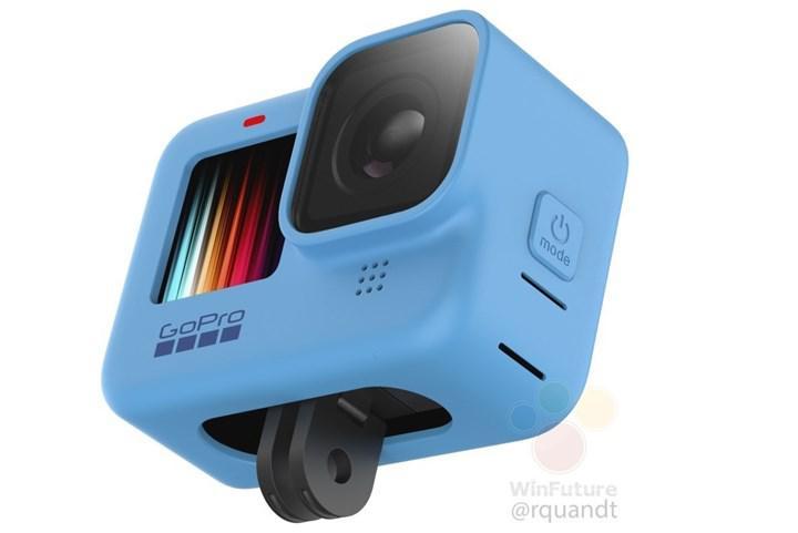 GoPro Hero 9 Black renkli ön ekranıyla karşımızda