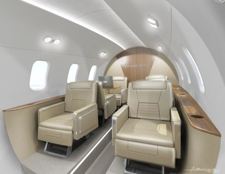 """Otto Aviation, verimlilikte çığır açmaya hazırlanan """"kurşun"""" uçak Celera 500L'yi tanıttı"""