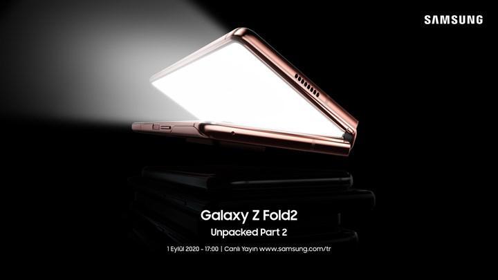 Samsung Galaxy Z Fold2 lansmanı canlı yayında
