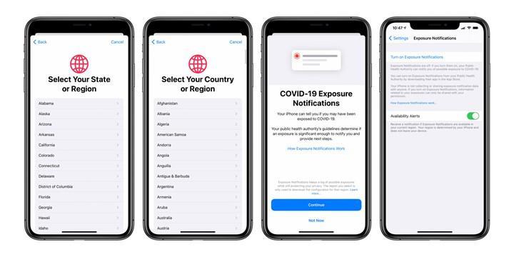 iOS 13.7 çıktı: iPhone'lara koronavirüs güncellemesi