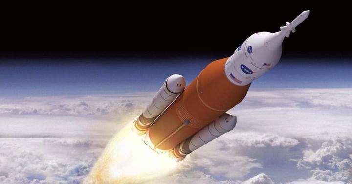 İnsanlığı Mars'a götürecek mega-roketin inanılmaz motor testi (VİDEO)