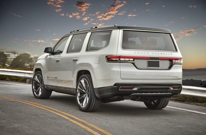 Amerikan ikonu yeniden doğuyor: İşte yeni nesil Jeep Grand Wagoneer