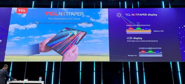 TCL yeni ekran teknolojisi NXTPAPER'ı IFA 2020'de tanıttı