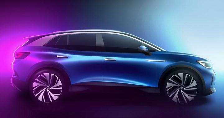 Elektrikli Volkswagen ID.4'ün kabininden ilk resmi görüntüler geldi