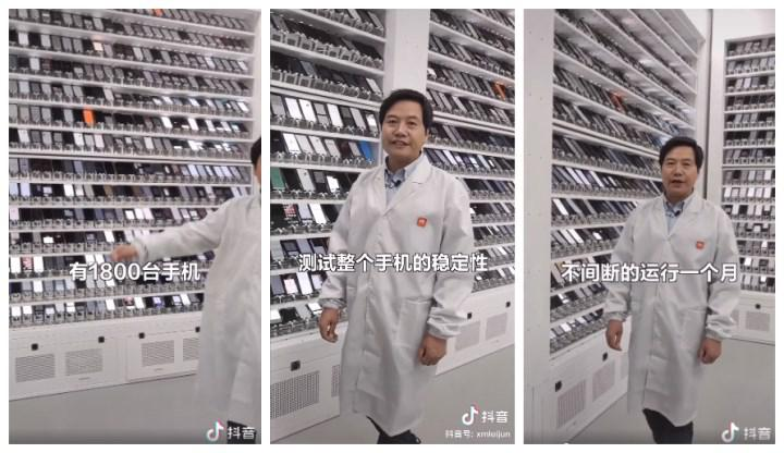 Xiaomi laboratuvarı görüntülendi: 1.800 akıllı telefon aynı anda test ediliyor