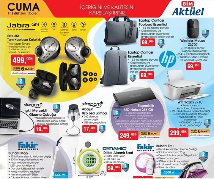Haftaya BİM ve A101 marketlerde dikkat çekici teknoloji ürünleri var