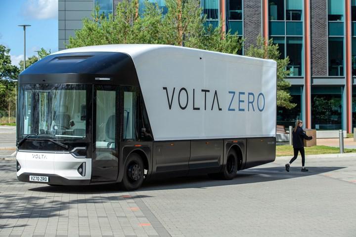 Sıra dışı tasarımıyla dikkat çeken 16 tonluk elektrikli kamyon: Volta Zero