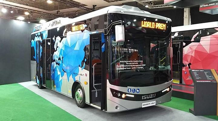 Anadolu Isuzu'nun elektrikli otobüsü gelecek yıl satışta