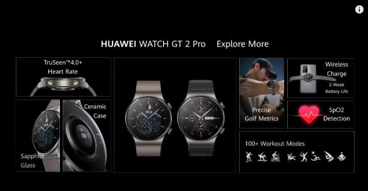 Huawei Watch GT2 Pro karşınızda: Güncel tasarım, kablosuz şarj