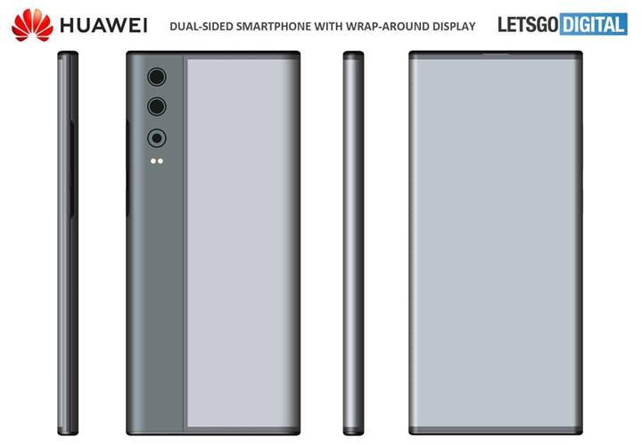 Huawei, Mi Mix Alpha'ya benzeyen bir akıllı telefonun patentini aldı