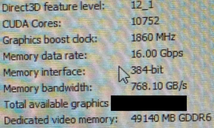 48 GB bellekli Quadro RTX Ampere kartı geliyor