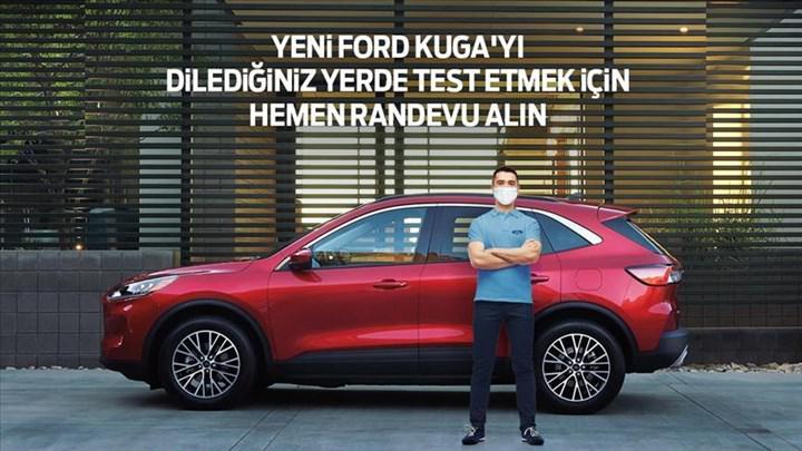 Ford Kuga ve Puma, test sürüşü için kapınıza kadar geliyor
