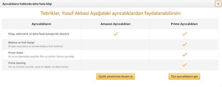 Amazon Türkiye'den dev hamle: Amazon Prime Türkiye'de!